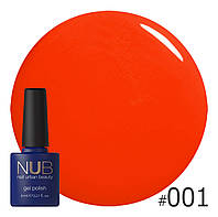 Гель-лак NUB № 001 Hawaiian Sunset, 8 мл
