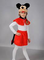 Детский новогодний костюм. Новогодний костюм Минни-Маус. Карнавальный костюм.Новогодний костюм для девочки.