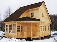 Приусадебный деревянный дом 7х6.
