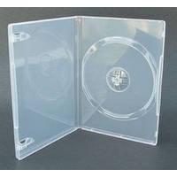 Amarey DVD бокс, 1 диск, суперпрозрачный, 14 мм, от 10 шт