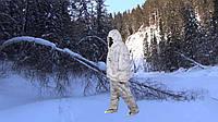 Маскировочный костюм для зимней охоты Клякса