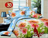 Семейный комплект постельного белья 3D  PS-BL76