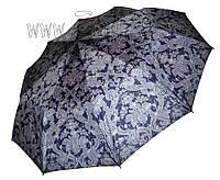 Женский зонт Zest Узоры на синем (полный автомат, 10 спиц ) арт. 23966-20