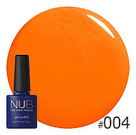 Гель-лак NUB № 004 Summer Sunlight, 8 мл