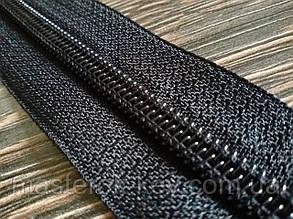 Молния спиральная в рулоне №10 Обувная Италия С580 черная 100м.