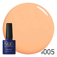 Гель-лак NUB № 005 Orange For Ever, 8 мл