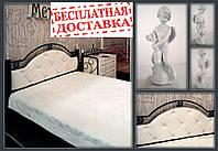 Кровать Эсмеральда с  мягким изголовьем