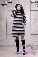 Женское зимнее пальто с капюшоном (р. 44-56) арт. 981 Fresh Тон 03