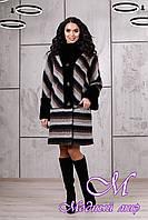 Женское теплое зимнее пальто (р. 44-54) арт. 975 Fresh Тон 01