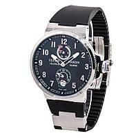 Ulysse Nardin Marine Silver мужские классические часы ААА класса - механика