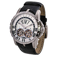 Roger Dubuis Excalibur Double Flying Tourbillon Silver White наручные часы премиум класса ААА