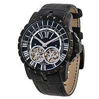 Roger Dubuis Excalibur Double Flying Tourbillon  Black наручные часы премиум класса ААА