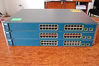 Cisco Catalyst WS-C3560-24PS-S , б/у управляемый коммутатор (свич) с PoE