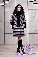 Женское красивое зимнее пальто (р. 44-54) арт. 975 Fresh Тон 03