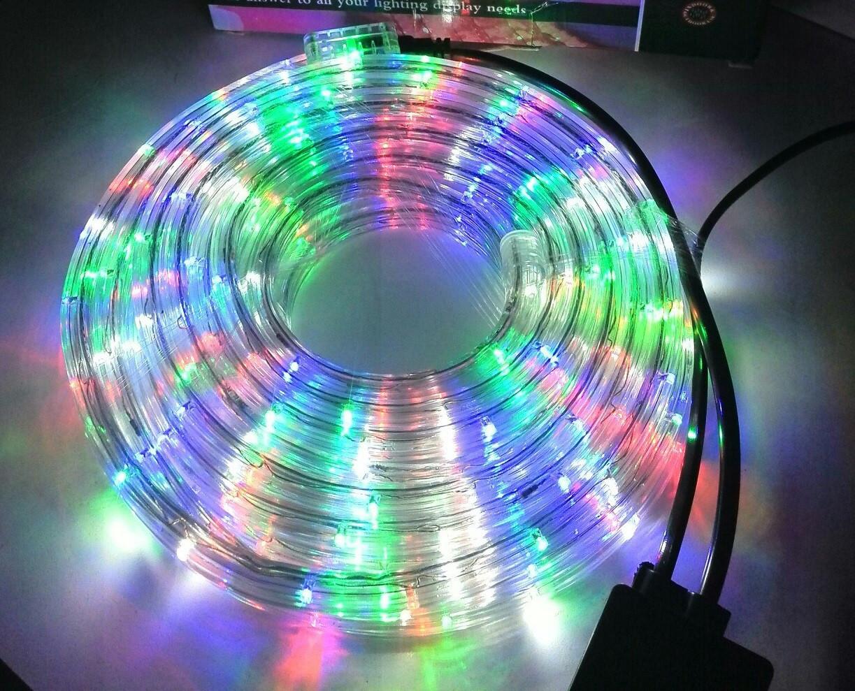 Гирлянда уличная лента светодиодная (LED) 10 м