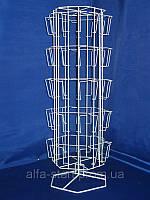 Стойка вертушка настольная для печатную продукцию, открытки