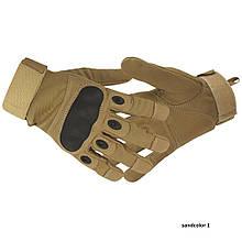 Тактичні рукавички Oakley Sandcolor (койот)