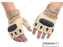 Тактичні рукавички Oakley Sandcolor (койот) безпалі