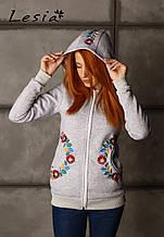 Жіночий светр Мрія сірий
