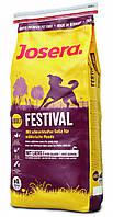 Josera Festival 15кг Сухой корм для привередливых собак с лососем