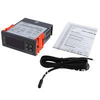 Электронный термостат для инкубатора регулятор температуры с датчиком -50.0 ~ 99.9 ° C  220В STC-1000