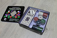Набор для игры в покер,казино, фишки
