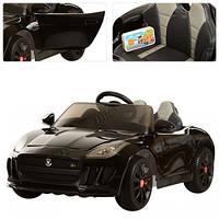 Электромобиль Jaguar M 3162 EBLRS-2 , мягкое сиденье, черный***