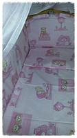 Комплект для детской кроватки 6 предметов, фото 1