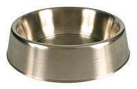 Миска Trixie 24941 для собак металлическая на резине, фото 1