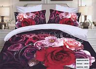 Двуспальный постельный комплект сатин