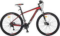 Горный карбоновый велосипед Crosser 29 дюймов Genesis гидравлика 19 рама