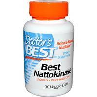 Best Nattokinase, Для безопасного «разжижжения» крови,90 капсул
