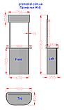 Промостол MIDI с регулируемыми ножками, фото 5