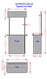 Сменная панель, топер для Промостол MAXI, фото 3