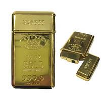 Зажигалка слиток золота 999,9