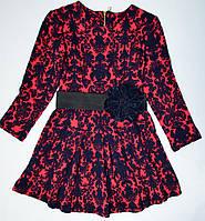 Трикотажное платье 116