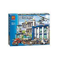 Конструктор Urban Artic BELA 10424 Полицейский участок 890 деталей