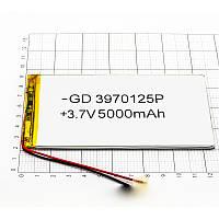 Тонкий аккумулятор для планшета 5000 mah 3.9x70x125 мм