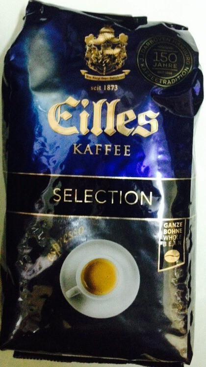 Кофе в зёрнах J.J.Darboven EILLES Selection Espresso 500г