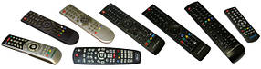 Пульты для телевизоров,DVD,кондиционеров,спутниковых тюнеров,iptv приставок и другой техники