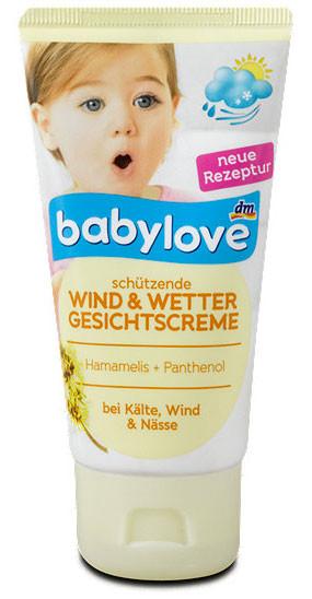 Крем детский защитный от ветра и холода Babylove 75мл