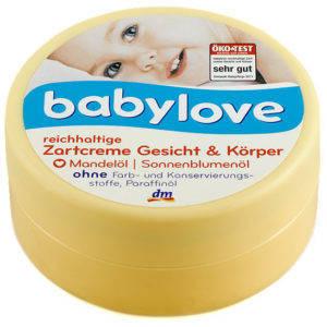 Крем для лица и тела с миндальным маслом Babylove 150мл, фото 2