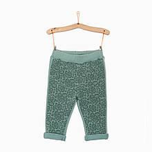 Спортивные штаны, впереди - кружевной принт, девочка, мятные 4.Q366 iDO, Италия