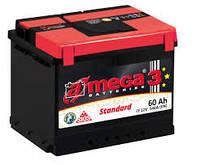 Аккумулятор автомобильный Амега 60 Ампер (A-mega) 60 Ач