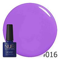 Гель-лак NUB № 016 The Color Purple 8 мл