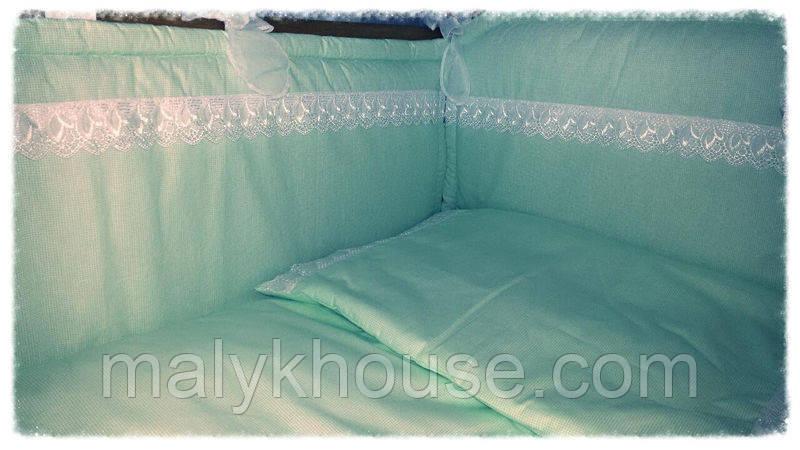 Комплект з бортиками Оленка в дитяче ліжечко