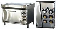 Электроплита Промышленная ЭПП-4Ш, с Духовкой (12,8 кВт или 16,8 кВт), 4 (четырех) конфорочна
