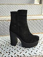 Ботинок каблук
