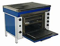 Электрическая плита Промышленная ЭПП-4УШ, с Духовкой (12,2 кВт или 16,2 кВт), 4 (четырех) конфорочна