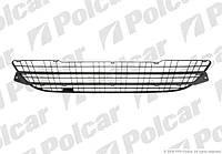 Бампер передний (решетка) Renault Kangoo 2 Polcar 606227-1